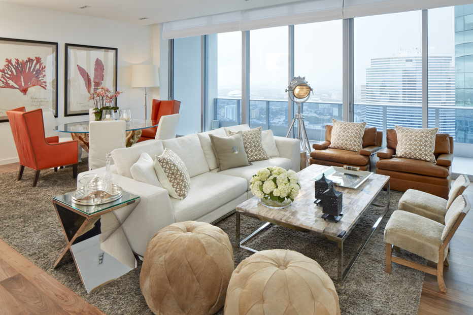 Metro Modern Condo Furniture Design Penthouse Decor