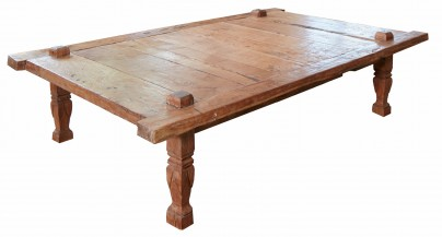 Antique Weaver's Coffee Table