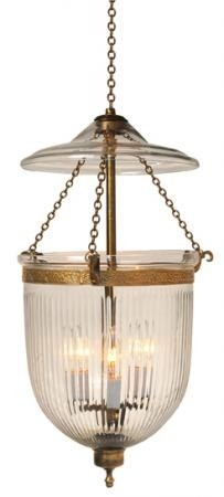 Prismatic Bell Jar Chandelier