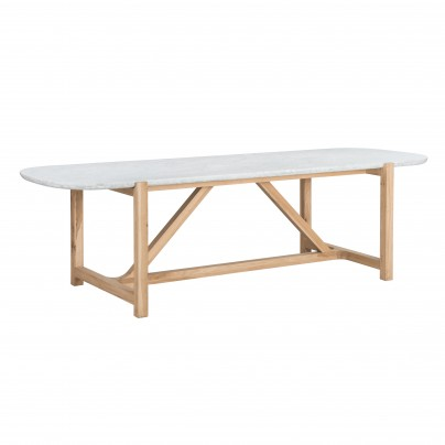 Stoneleaf Dining Table Bleu Nature