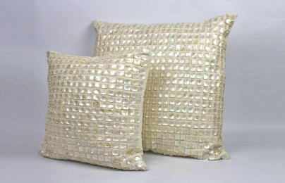 Elizabeth Mother of Pearl Pillow