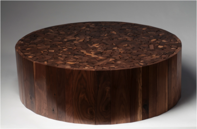 Walnut Puzzle Top Coffee Table