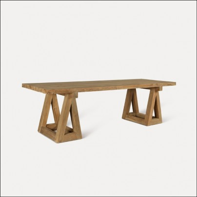 Shaggi Teak Dining Table
