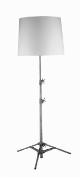 Studio Floor Lamp - Polished Nickel