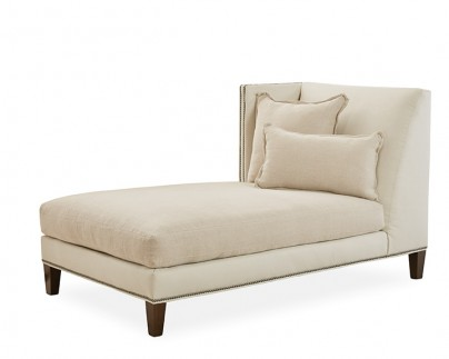 The Jack Lounge One Arm Chaise - Left Facing