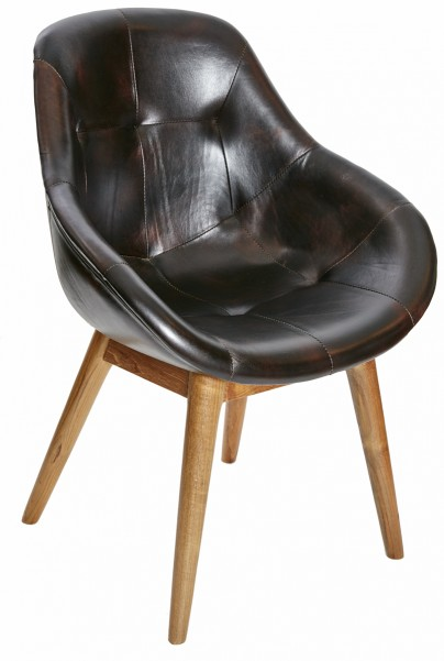 Evan Leather Dining Chair