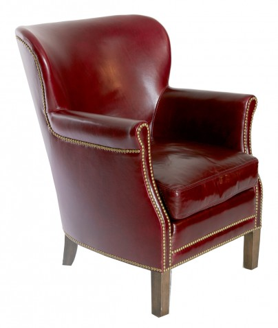 Bourgogne Leather Lounge Chair
