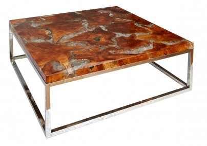 Riva Teak and Resin Coffee table