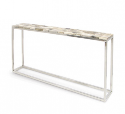 Petrified Wood Console