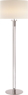 Riga Nickel Floor Lamp
