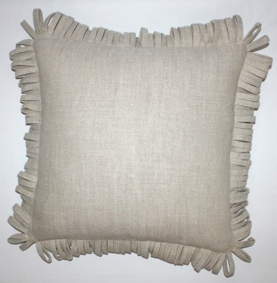 """Rita Accent Pillow with Fringe - 20"""" SQ"""