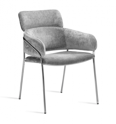 Maxime Dining Chair Stainless Steel