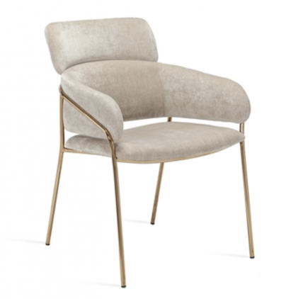 Maxime Dining Chair - Beige Latte