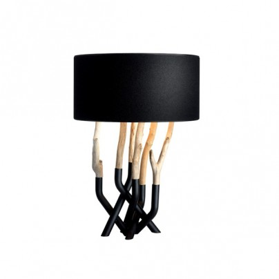 Outline Table Lamp - black