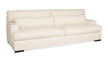 "Nantucket Slipcovered Sofa 85"" L"