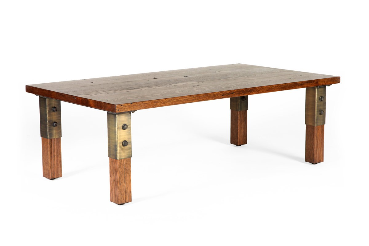 Grand Junction Cocktail Table Reclaimed Wood Coffee Table