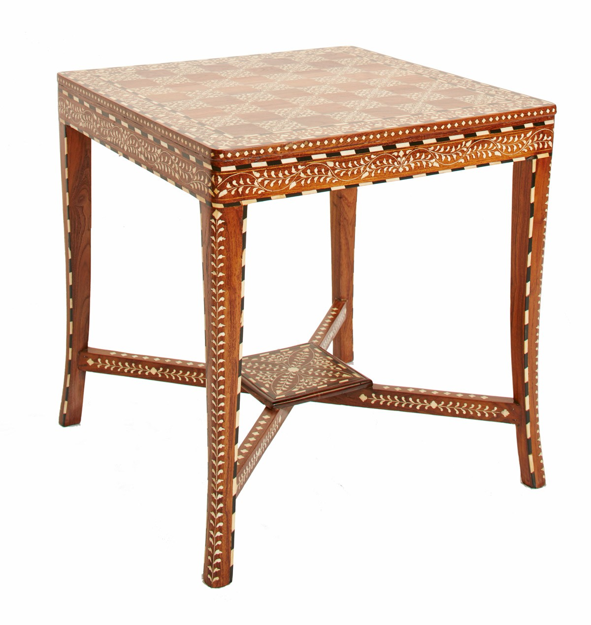 Admirable Chess Bone Inlay Side Table Handmade Indian Furniture Dailytribune Chair Design For Home Dailytribuneorg