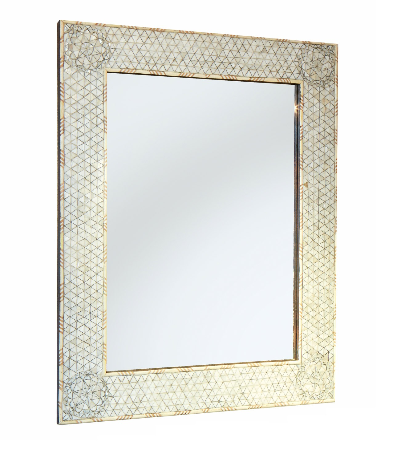 Mother Of Pearl Handcrafted Extra Large Mirror