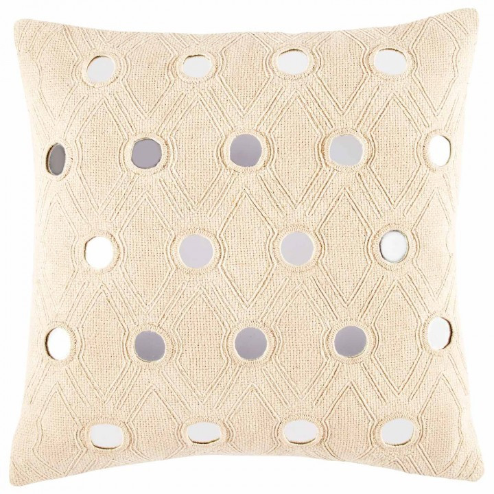 Decorative Pillows With Mirrors : Mirror decorative pillow