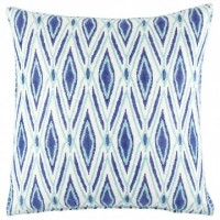 Periwinkle and Sea Glass Decorative Pillow