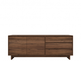 Walnut  Wave Sideboard