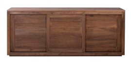 Teak Pure Sideboard - Three Doors