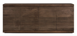 Teak Burger Sideboard - Four Doors