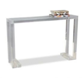 Ava Lucite Console Table