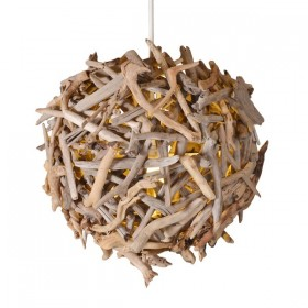 Bleu Nature Igniq Ball Driftwood Chandelier