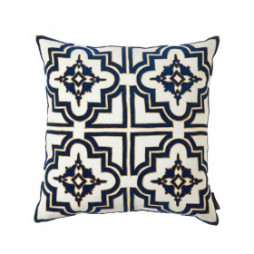 Belgrove Blue Decorative Pillow