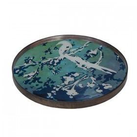 Birds of Paradise Mirror Tray