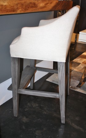 Patton Campaign Bar Stool