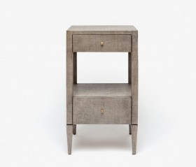Conrad Nightstand - Seal Raffia Finish