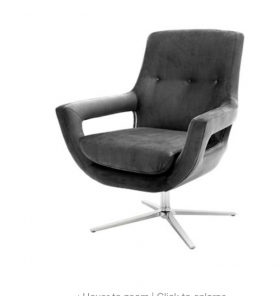 Flavia Swivel Chair
