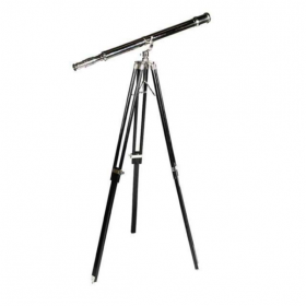 Maritime Telescope - Black and Nickel