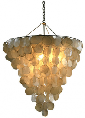 Serena Shell Chandelier