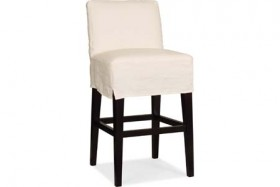 Kennedy Slipcovered Counter Stool