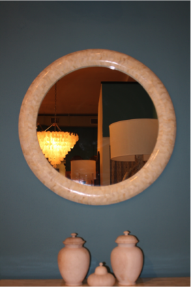 Bombay Bone Mirror