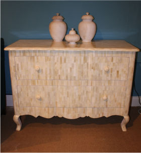 Cream Bone Bombay Chest