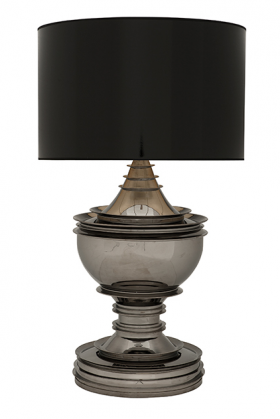 Silom Lamp - Black Nickel