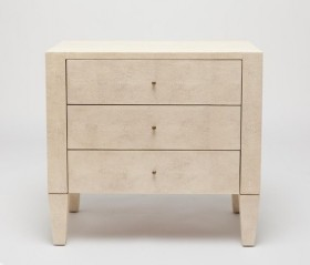 Sorin 3 Drawer Double Nightstand