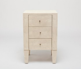 Sorin 3 Drawer Single Nightstand