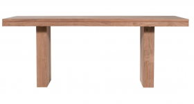 Teak Double Dining Table