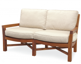 Teak Outdoor Loveseat