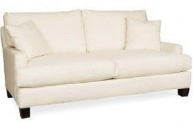 White Cotton Apartment Sofa