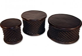 Bamileke Carved Stool/Table