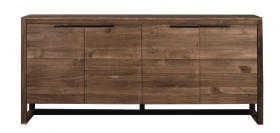 Teak LF Sideboard - Four Doors