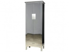 Stainless Steel Narrow Cabinet