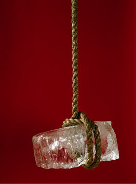 Ice & Rope Photographic Print