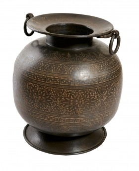 Brass and Copper pot